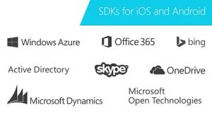 Microsoft SDKs für iOS und Android